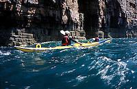Europe/France/Bretagne/22/Côtes d'Armor/Cap Frehel: Raid en kayak de mer le long des falaises du cap