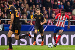 Thomas Teye Partey of Atletico de Madrid runs with the ball during the UEFA Champions League 2017-18 match between Atletico de Madrid and AS Roma at Wanda Metropolitano on 22 November 2017 in Madrid, Spain. Photo by Diego Gonzalez / Power Sport Images