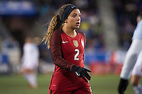 HARRISON, New Jersey - Saturday, March 4, 2017: The United States Women's National Team (USWNT) takes on England during the She Believes Cup.