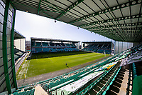 21st April 2021; Easter Road, Edinburgh, Scotland; Scottish Premiership Football, Hibernian versus Livingston;  Easter Road Stadium ahead of kick off