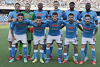SSC Napoli Team line-up  during the Serie A 2021/2022 football match between SSC Napoli and Juventus FC at Diego Armando Maradona stadium in Napoli (Italy), September 11th, 2021. <br /> Photo Cesare Purini / Insidefoto