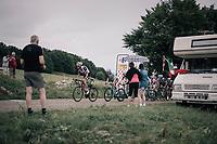Laurens ten Dam (NED/Sunweb) up the first HC climb of the day; the Col de la Biche (10.5km @9%)<br /> <br /> 104th Tour de France 2017<br /> Stage 9 - Nantua › Chambéry (181km)