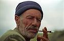 Turkey 2005 Portrait of shepherd near Ararat mountain  <br /> Turquie 2005 Portrait d'un berger pres du mont Ararat
