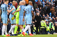 Swansea manager Paul Clement leaves the technical area at full time during the Premier League match between Manchester City and Swansea City at the Etihad Stadium, Manchester, England. Sunday 05 February 2017