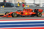 Scuderia Ferrari Mission Winnow driver Charles Leclerc (16) of Monaco in action during the Formula 1 Emirates United States Grand Prix race held at the Circuit of the Americas racetrack in Austin,Texas.