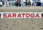 Scenes from around the track before the 142nd running of the grade 1 Travers Stakes for three year olds on August 27, 2011 at Saratoga Race Track in Saratoga Springs, New York.  (Bob Mayberger/Eclipse Sportswire)