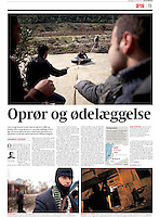 Politiken (leading Danish daily):<br /> Syria, Idlib province -<br /> Uprising against Assad, 03.2012<br /> Photos:  Timo Vogt