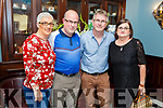 Pat Shanahan from Abbeydorney celebrating his 60th birthday in the Imperial Hotel on Saturday.<br /> L to r: Alexandra, Paul, Pat and Mary Shanahan