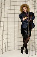 FILE - EXCLUSIF Martine Saint-Clair<br /> circa 1986<br /> <br /> Photo : Harold Beaulieu<br />   - Agence Quebec Presse