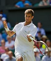 England, London, 24.06.2014. Tennis, Wimbledon, AELTC, Martin Klizan (SVK)<br /> Photo: Tennisimages/Henk Koster