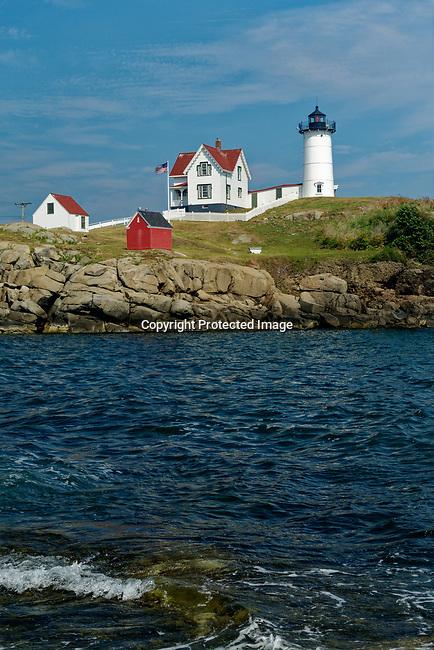 Cape Neddick Lighthouse, York, Maine, USA