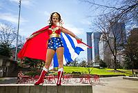 Wonder Woman Cosplay, Emerald City Comicon 2018, Seattle, WA, USA.