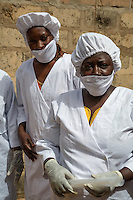 Women Workers at Cashew Nut Farm, The Gambia
