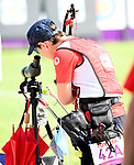 Karen Van Nest, Tokyo 2020 - Archery // Tir à L'Arc<br /> Karen Van Nest during Para Archery preliminary competition // Karen Van Nest lors de la compétition préliminaire de paratir à l'arc. 27/08/2021.