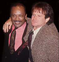 Quincy Jones Robin Williams 1991 Photo By John Barrett/PHOTOlink