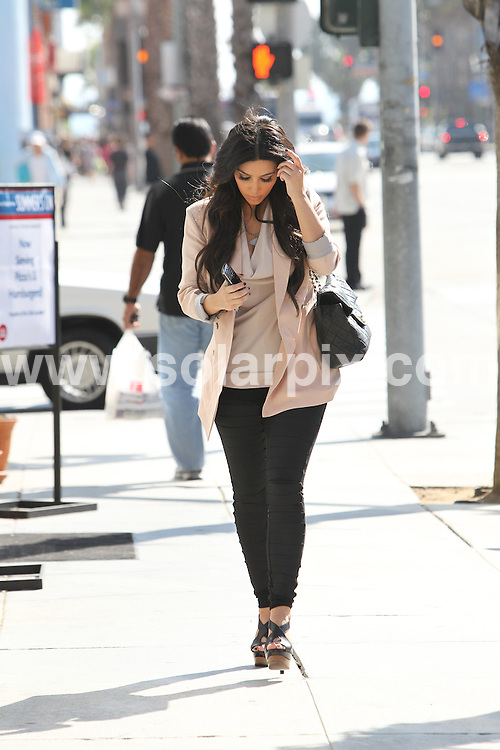 **ALL ROUND PICTURES FROM SOLARPIX.COM**.**SYNDICATION RIGHTS FOR UK, AUSTRALIA, DENMARK, PORTUGAL, S. AFRICA, SPAIN & DUBAI (U.A.E) & ASIA (EXCLUDING JAPAN) ONLY**.Kim Kardashian Goes To Get A Wax In Santa Monica, CA, USA, 11 August 2010.This pic: Kim Kardashian..JOB REF: 11886     PHZ candids    DATE: 11_08_2010.**MUST CREDIT SOLARPIX.COM OR DOUBLE FEE WILL BE CHARGED**.**MUST NOTIFY SOLARPIX OF ONLINE USAGE**.**CALL US ON: +34 952 811 768 or LOW RATE FROM UK 0844 617 7637**