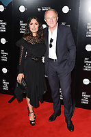 "Salma Hayek and husband Francois-Henri Pinault<br /> at the premiere of ""Beatriz at Dinner"" as part of Sundance London at the Mayfair Hotel, London. <br /> <br /> <br /> ©Ash Knotek  D3271  01/06/2017"