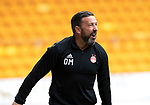 St Johnstone v Aberdeen…15.09.18…   McDiarmid Park     SPFL<br />Derek McInnes goes nuts after his side were denied a late penalty<br />Picture by Graeme Hart. <br />Copyright Perthshire Picture Agency<br />Tel: 01738 623350  Mobile: 07990 594431