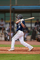 Ty Koch (9) bats during the Perfect Game National Underclass East Showcase on January 23, 2021 at Baseball City in St. Petersburg, Florida.  (Mike Janes/Four Seam Images)