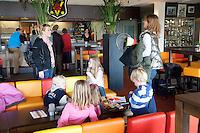 15-3-09, Rotterdam, Nationale Overdekte Jeugdkampioenschappen 12 en 18 jaar, Clubhuis