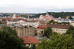 FK Trakai v St Johnstone…05.07.17… Europa League 1st Qualifying Round 2nd Leg<br />A general view of the city of Vilnius, Lithuania<br />Picture by Graeme Hart.<br />Copyright Perthshire Picture Agency<br />Tel: 01738 623350  Mobile: 07990 594431