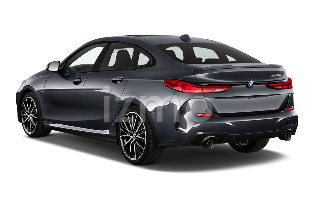 Car pictures of rear three quarter view of 2020 BMW 2-Series-Gran-Coupe M-Sport 4 Door Sedan Angular Rear
