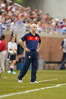 7 June 2011: USA head coach Bob Bradley during the CONCACAF soccer match between USA and Canada at Ford Field Detroit, Michigan. USA won 2-0.