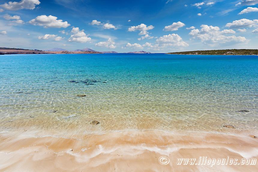 Xifara beach in Paros island, Greece