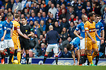 Stephen Pearson booked for his lunge on Jon Toral