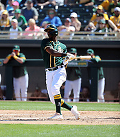 Jorge Mateo - Oakland Athletics 2020 spring training (Bill Mitchell)