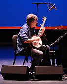 WEST PALM BEACH, FL - MAY 17: Bela Fleck performs with Chick Corea at The Kravis Center for the Performing Arts on May 17, 2019 in West Palm Beach Florida. Credit Larry Marano © 2019
