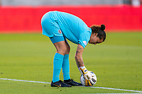 HOUSTON, TX - JANUARY 28: Noelia Bermudez #1 of Costa Rica sets the ball during a game between Costa Rica and Panama at BBVA Stadium on January 28, 2020 in Houston, Texas.