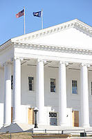 JAN 15 Richmond State Buildings Board Up In Anticipation of Unrest