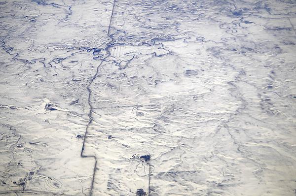 South Dakota Wintery Plains