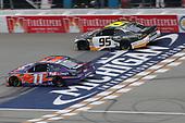 #11: Denny Hamlin, Joe Gibbs Racing, Toyota Camry FedEx Freight #95: Kasey Kahne, Leavine Family Racing, Chevrolet Camaro Chevy Accessories