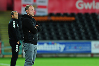 Steve Cooper Head Coach of Swansea City in action during the Carabao Cup Second Round match between Swansea City and Cambridge United at the Liberty Stadium in Swansea, Wales, UK. Wednesday 28, August 2019.