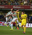Celtic's Beram Kayal scores their first goal.