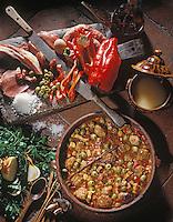 """Europe/France/Languedoc-Roussillon/66/Pyrénées-Orientales/Perpignan: Boles de Picolats (boulettes de viande) - Recette de Claude Patry chef du """"Chapon Fin"""""""