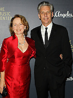 LOS ANGELES, CA, USA - DECEMBER 06: Kate Burton, Michael Ritchie arrive at The Music Center's 50th Anniversary Spectacular held at The Music Center - Dorothy Chandler Pavilion on December 6, 2014 in Los Angeles, California, United States. (Photo by Celebrity Monitor)