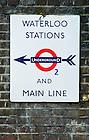 Sept. 3, 2012; London Underground sign near Conway Hall, London..Photo by Matt Cashore/University of Notre Dame