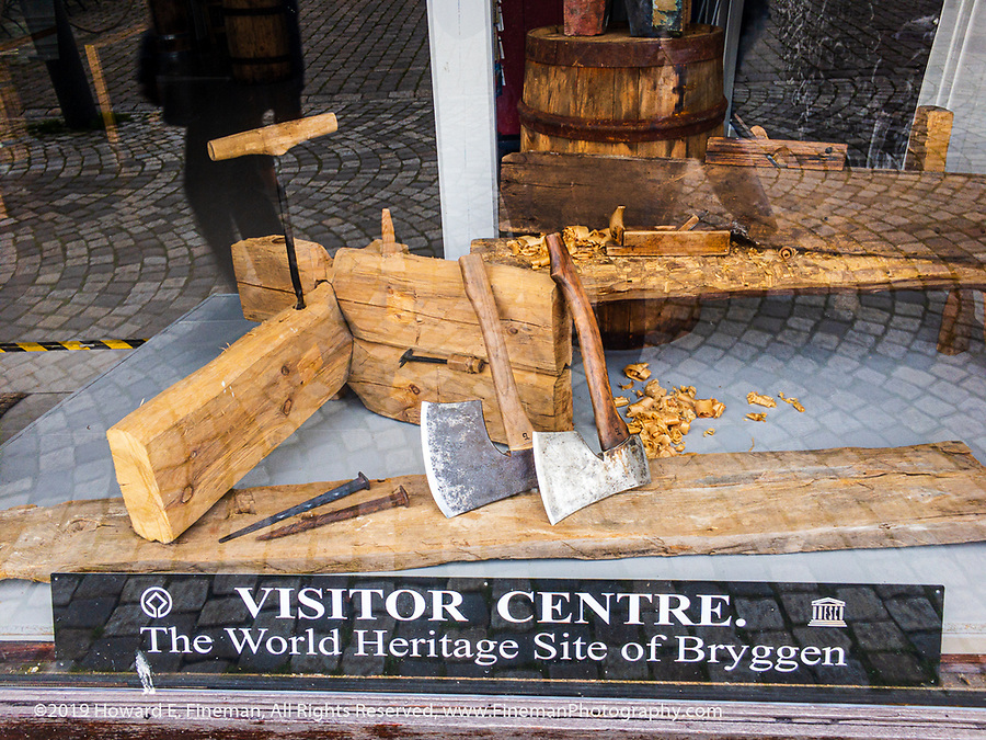 Hand tools and joinery in Bryggen restorations