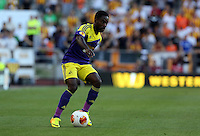 Valencia, Spain. Thursday 19 September 2013<br /> Pictured: Nathan Dyer.<br /> Re: UEFA Europa League game against Valencia C.F v Swansea City FC, at the Estadio Mestalla, Spain,