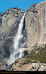 Upper Yosemite Fall in Spring, Cook's Meadow, Yosemite National Park