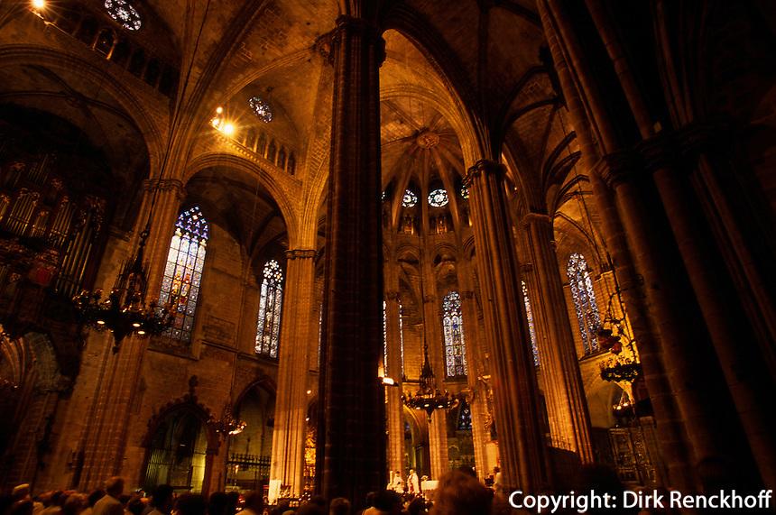 Spanien, Barcelona, in der Kathedrale