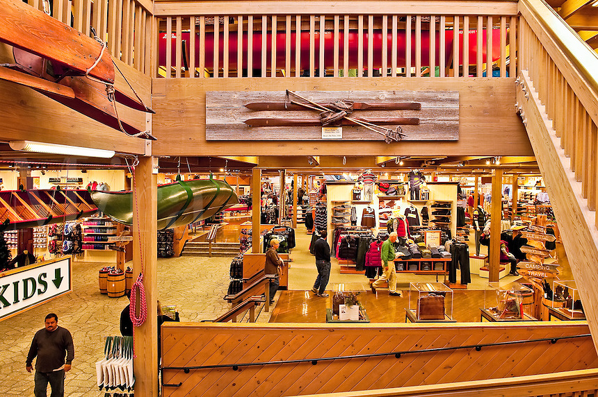 LL Bean flagship store, Freeport Maine, ME, USA