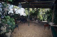 Lisa Salmon's Feeding station, Rocklands, Montego Bay, Jamaica, January 2005