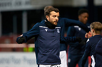 16th March 2021; Dens Park, Dundee, Scotland; Scottish Championship Football, Dundee FC versus Ayr United; Paul McMullan of Dundee during the warm up before the match