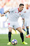 Stevan Jovetic of Sevilla FC in action during their La Liga match between Atletico de Madrid and Sevilla FC at the Estadio Vicente Calderon on 19 March 2017 in Madrid, Spain. Photo by Diego Gonzalez Souto / Power Sport Images