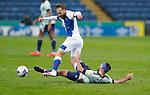 03.10.20 - Blackburn Rovers v Cardiff City - Sky Bet Championship - Greg Cunningham of Cardiff and Harry Chapman of Blackburn Rovers