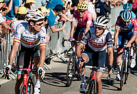 Luis Leon Sanchez (ESP/Astana) & Richie Porte (AUS/Trek-Segafredo) crossing the finish line<br /> <br /> Stage 5 from Gap to Privas (183km)<br /> <br /> 107th Tour de France 2020 (2.UWT)<br /> (the 'postponed edition' held in september)<br /> <br /> ©kramon